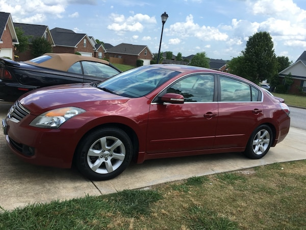 2007 Nissan Altima 3 5 Sl Maroon In Color Great Car Fully Loaded