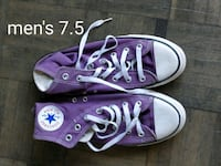 pair of purple Converse All Star high top sneakers Toronto, M5V 0E4