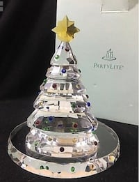 Partylite candle holders Christmas village houses 262 mi