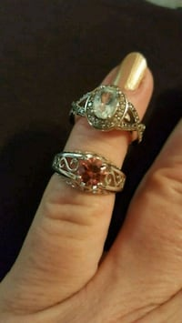 2 silver rings(925) size approximately 7 Rossville, 30741