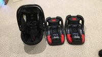 Britax B35-Agile infant car seat and bases Herndon, 20170