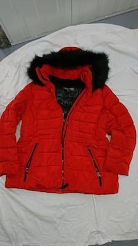 Calvin Klein Performance red winter coat