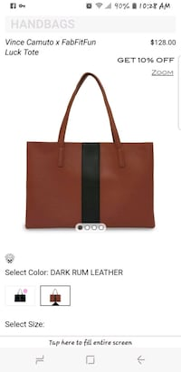 Brown Vince Camuto Vegan Leather t Palm Desert, 92211