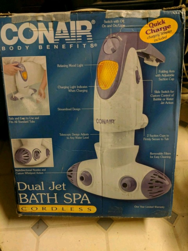 Used Conair Dual Bath Spa Jet For Sale In Dayton Letgo
