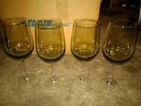 Un-used long stem wine glasses Antelope, 95843