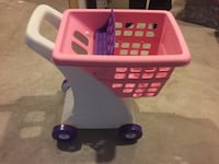 Pink and purple Fisher Price shopping cart toy Naperville, 60540