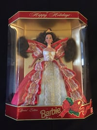 NIB 1997 Holiday Barbie Red Bank, 07701