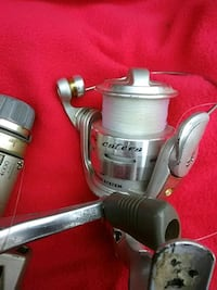 Two fishing reals   catera. Anda. Shimano. Spirex. Hagerstown