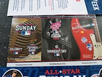 2 MLB All Star Week ticket strips Middle River
