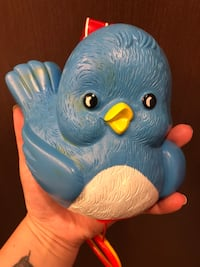 1968 Blue bird music box vintage toy Harrisburg, 17112