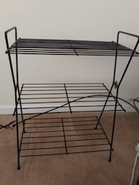 black metal 3-layer rack MIDDLETOWN