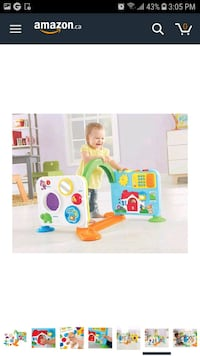 Fisher price baby crawl around learning centre