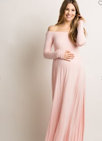 Pink Maternity Dress - Used Once, Like New!