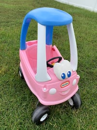 baby's pink and blue Little Tikes cozy coupe Myrtle Beach, 29579