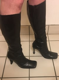 Brand new prialpas gomma Italian leather boots. Beautiful and perfect condition  Calgary, T2K 1N1