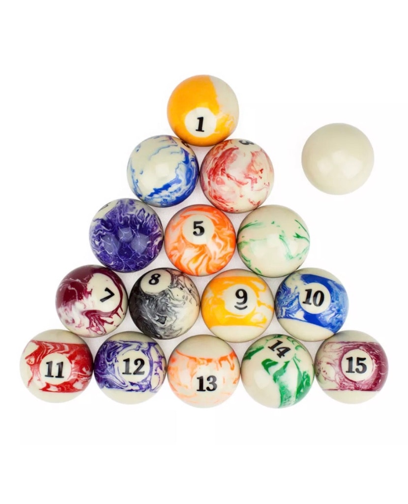 Used Marble Pool Table Balls Billards New For Sale In Tampa   Letgo