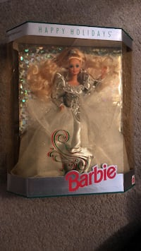 1992 special edition holiday barbie