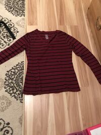 purple and black striped long-sleeved shirt Trent Hills, K0L 1Y0