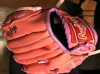 brown and pink Rawlings baseball mitt Mount Pleasant, 10532