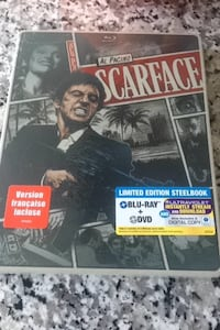 Scarface in steel box DVD & blue ray Toronto, M4G