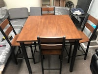 COUNTER HEIGHT DINING TABLE ASSEMBLED Dallas