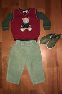 Size 18 baby boy Christmas clothes Springfield, 22152