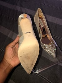 Ivory wedding/ prom shoes  Pikesville, 21208