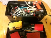 Toolbox filled with hand tools Whitman, 02382