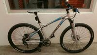 gray and blue hardtail mountain bike Vancouver, V6A 1S2