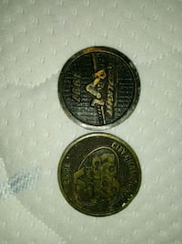 Professional championship pool league coins