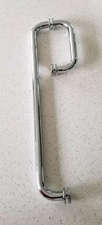 "CRL Polished Chrome 6"" Pull Handle & 18"" Towel Bar"