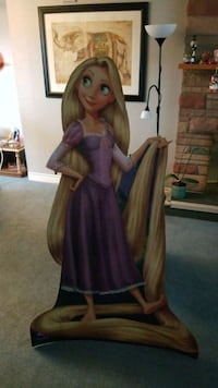 Rapunzel cardboard lifesize cutout for party Coquitlam, V3J 1W8