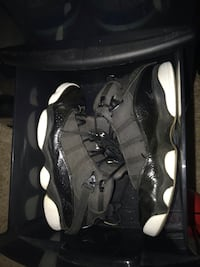 Jordan 6 Ring All Black  Blackwood, 08012