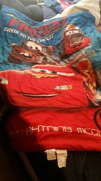 Toddler bed cars blanket Indianapolis, 46221