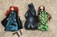 Disney brave Merida Queen elinor barbie doll bear set Niagara Falls, L2H