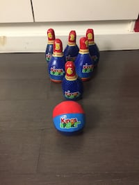Soft 7 piece bowling set