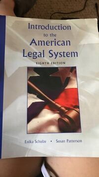 Intro to the American legal system textbook Austin, 78759