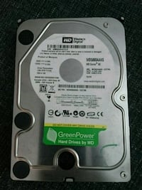Internal hard drive, western digital green 500gb Mississauga, L5R 4G9