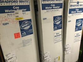 Water Heaters 30, 40, 50 gallons  Boilers commercial water heaters
