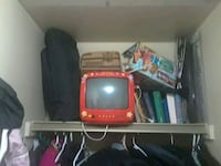 red and black for Dora the explorer  CRT TV 1961 km