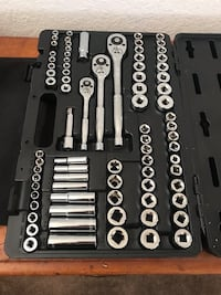 Westward wrench and socket set