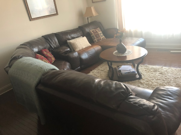 Sectional & Side Tables