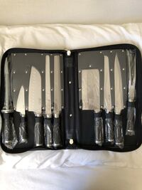 9.PC KNIFE SET IN PRESENTATION CASE Skjetten, 2013