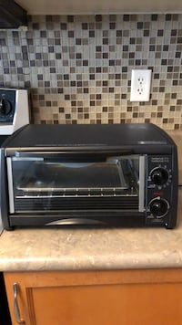 Black and gray toaster oven Ajax, L1T 0B7