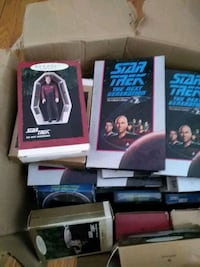 Star trek next generation vhs tapes and more Milford, 18337