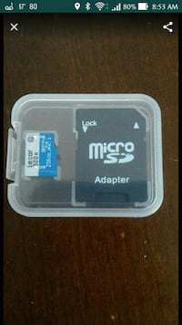 NEW Lexar 300x 256gb micro SD with SD card Adapter Harrison, 10528