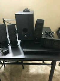 Logic speakers and sub Winnipeg, R3J