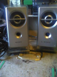 two black and gray speakers Tulsa, 74115