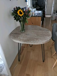 Dining table wooden and cast iron Los Angeles, 90029