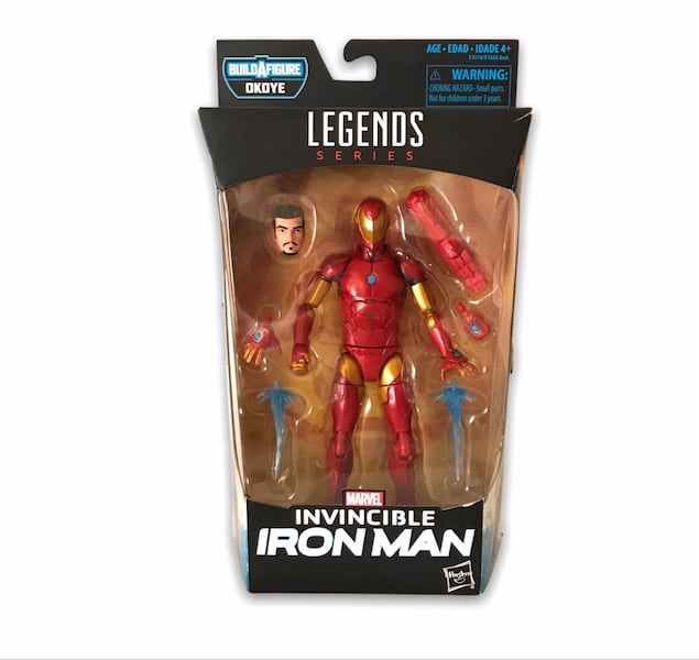 Marvel Legends Iron Man figür 639eb7e9-ca89-47a7-bee1-e3fa7aa13775